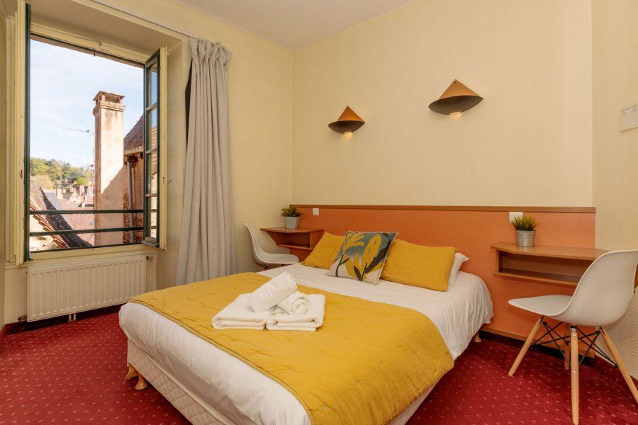 Hôtel Sarlat centre chambre standard